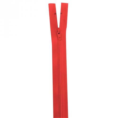 Fermeture rouge 30 cm non séparable col 820