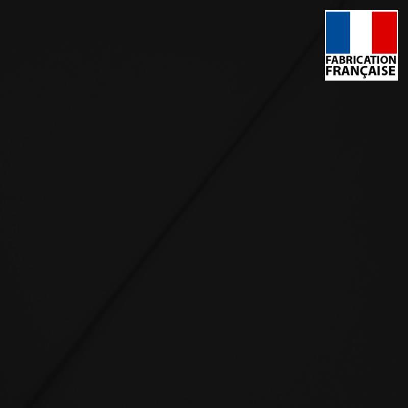 Popeline de coton mercerisé noire