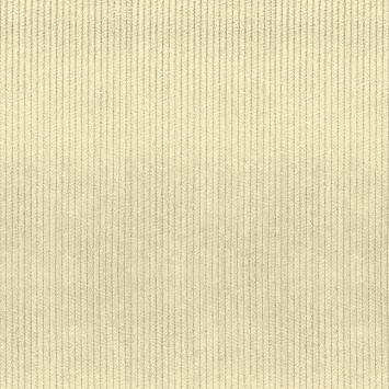 Velours côtelé d'ameublement ivoire