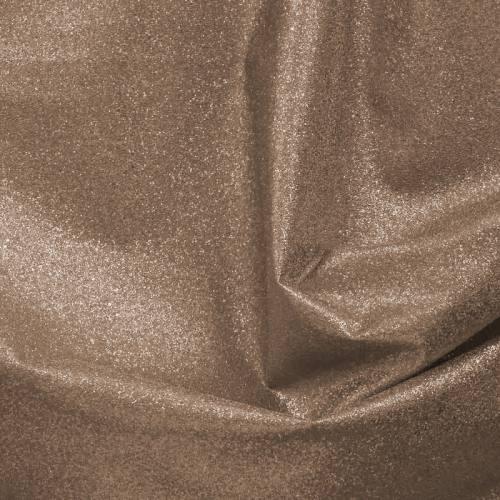 Simili cuir bronze brillant