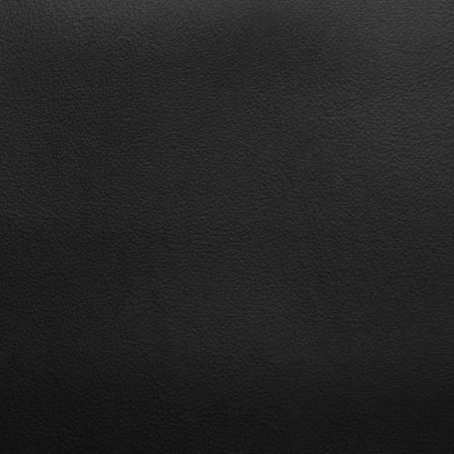Coupon 50x68cm - Simili cuir noir envers suédine réversible