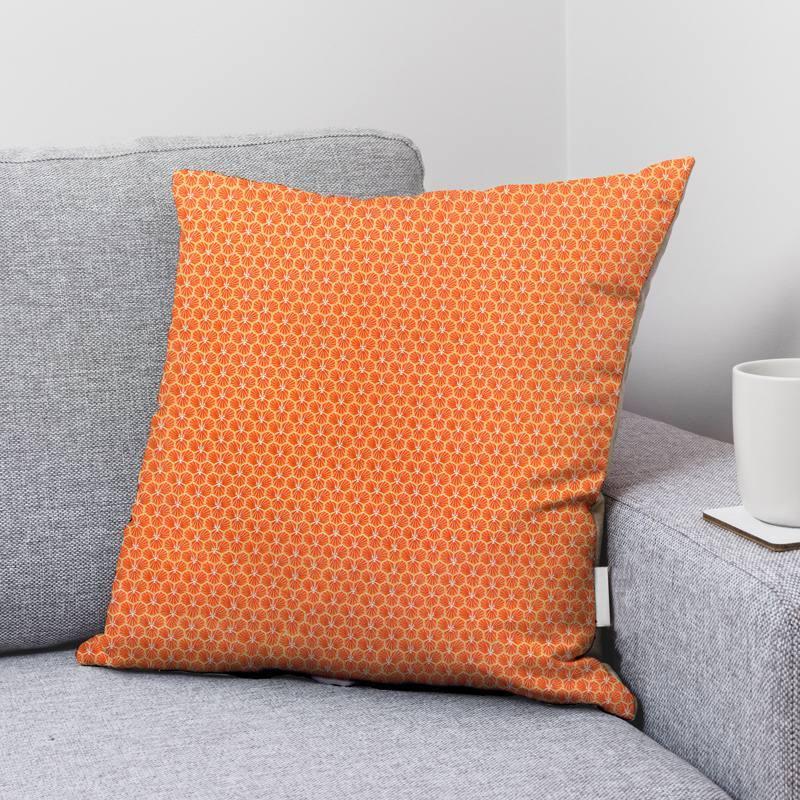 Coton tomette motif trèfle riad