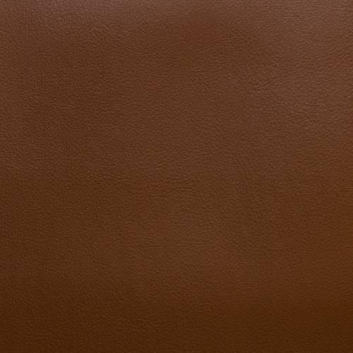 Coupon 50x68cm - Simili cuir tabac envers suédine réversible