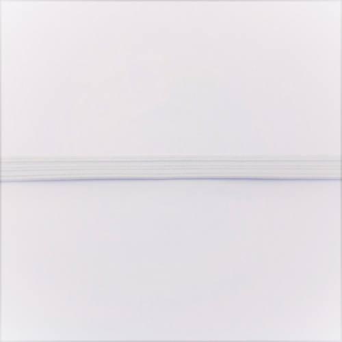 Elastique souple blanc 6 mm pour masques