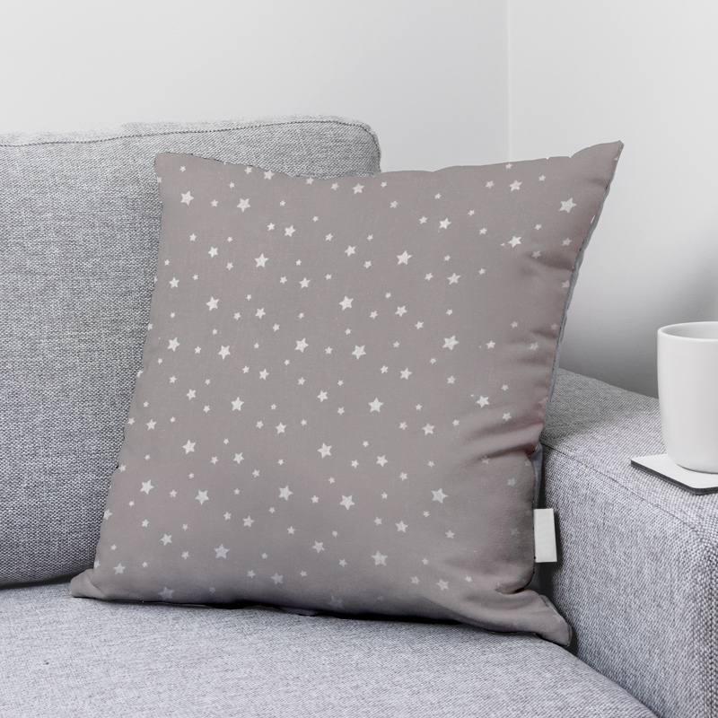 Coton zetoile couleur gris