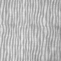Simili cuir argenté relief effet vague