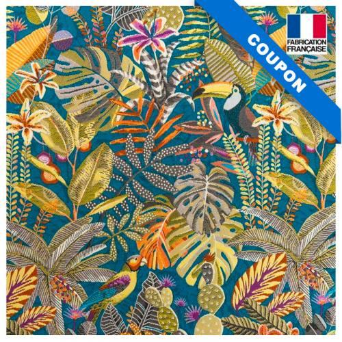 Coupon 50x73cm - Jacquard sumatra caraibe