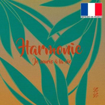 Coupon 45x45 cm toile canvas Harmonie - Création Chaylart