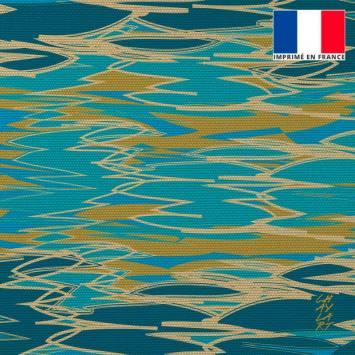 Coupon 45x45 cm toile canvas Plénitude - Fond - Création Chaylart
