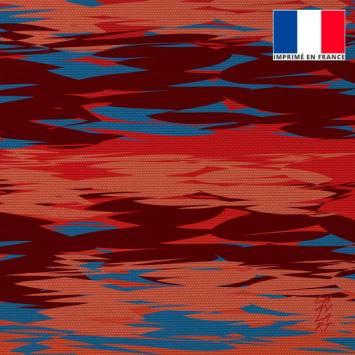 Coupon 45x45 cm motif Sérénité - Fond - Création Chaylart