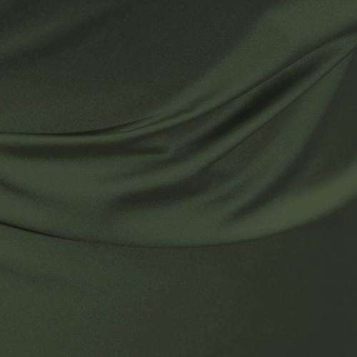 Satin microfibre royal vert militaire