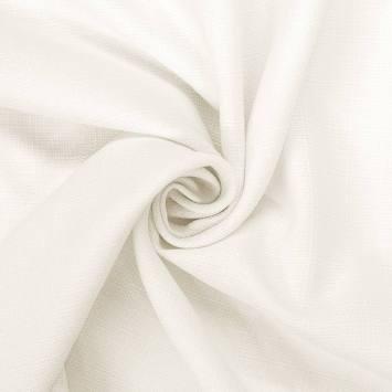 coupon - Coupon 78cm - Tissu aspect lin écru