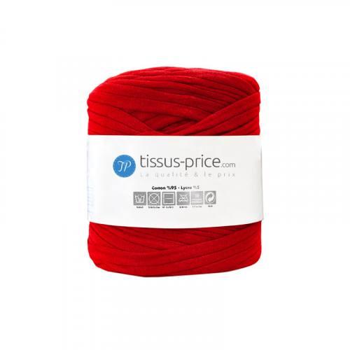 Bobine de fil trapilho rouge de 750g