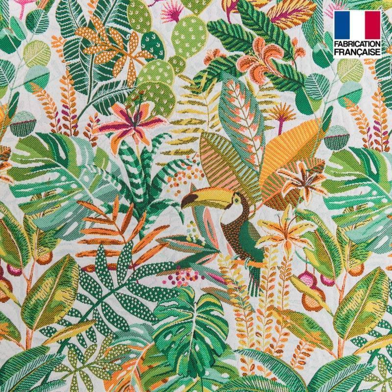 Coupon 50x68 cm - Jacquard sumatra cactus