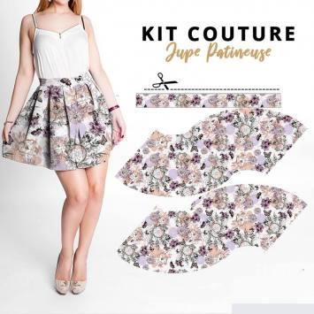 Kit jupe à coudre Collection Automne - Satin