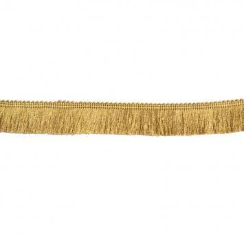 Galon franges fil or 30 mm