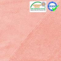 Micro éponge bambou rose dragée double face