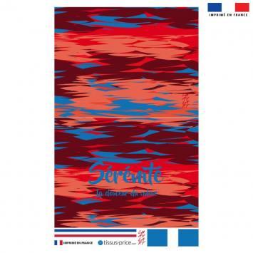 Kit pochette motif Sérénité - Création Chaylart