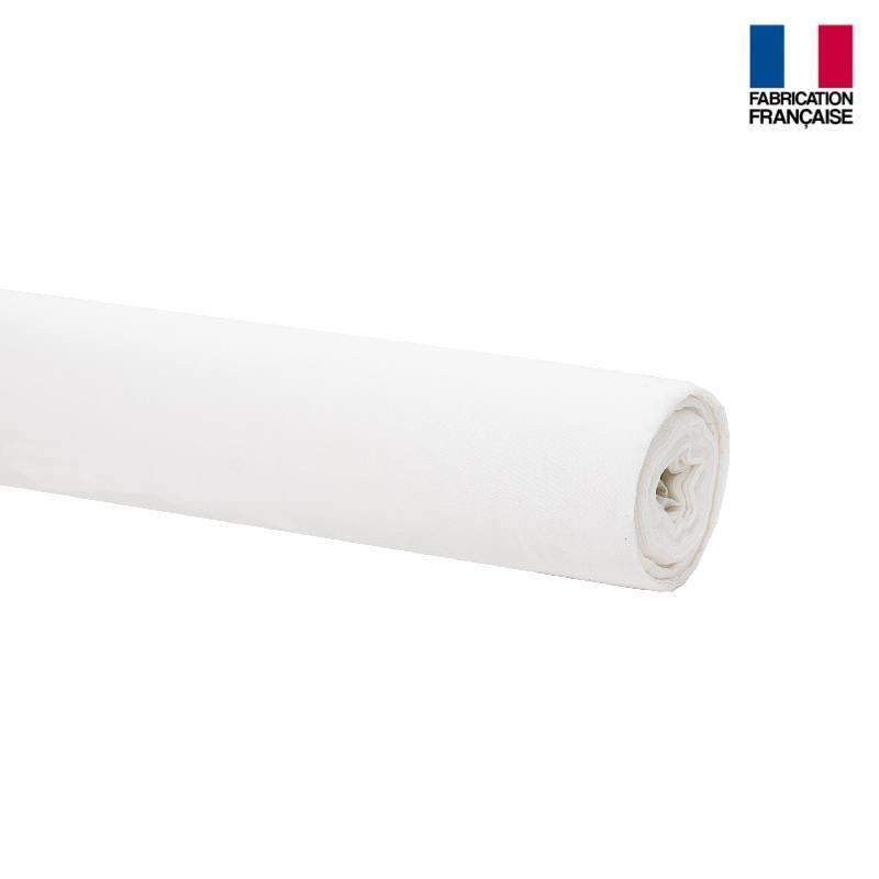 Rouleau 31m voilage blanc non feu m1 plombé grande largeur