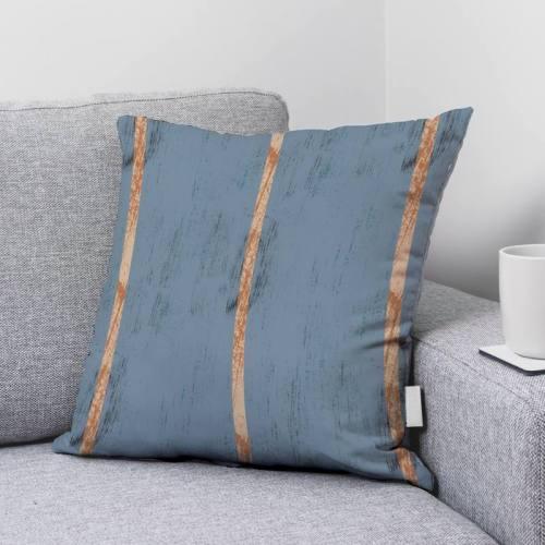 Effet bois - Fond bleu gris