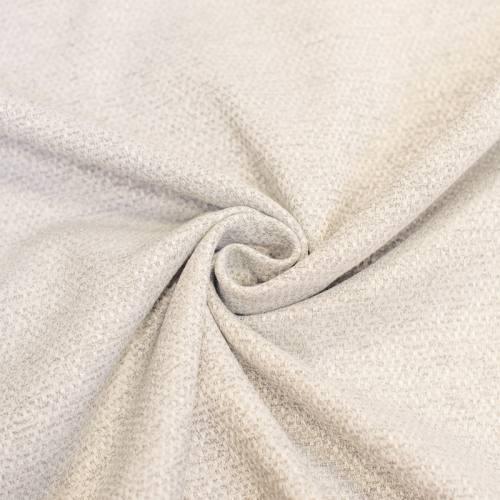 Tissu jacquard tissage chiné crème grande largeur