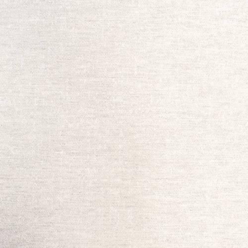 Voilage polycoton lin chiné crème grande largeur