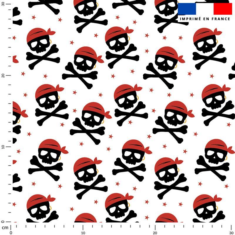 Pirate - Fond blanc