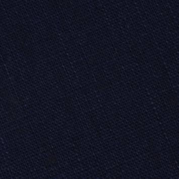 coupon - Coupon 40cm - Lin bleu marine