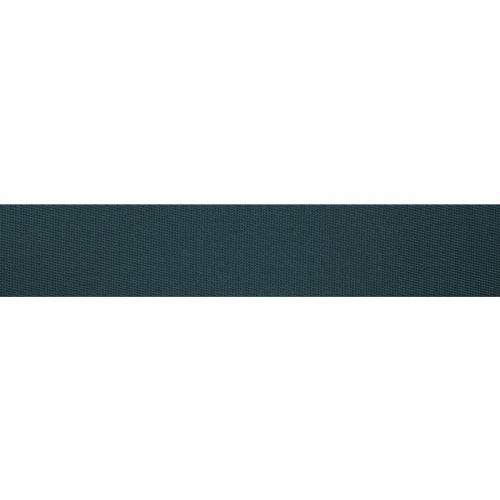 Sangle polyester bleu paon 35 mm