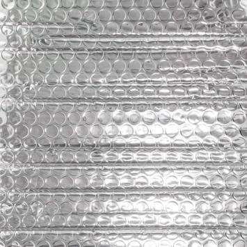Isolant thermo reflecteur à bulles double épaisseur