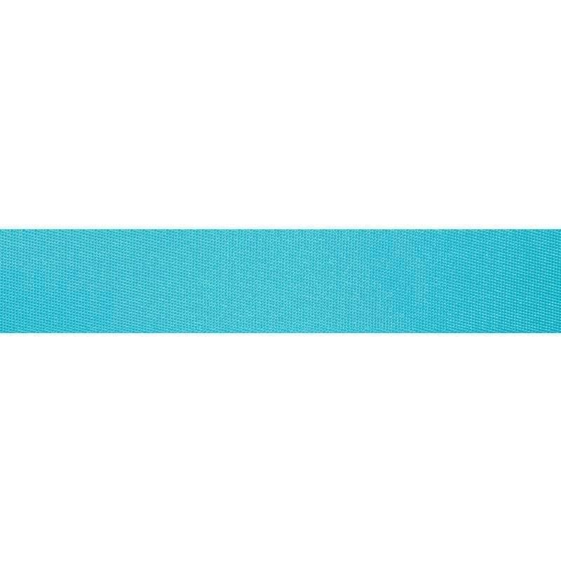Sangle polyester bleu turquoise 35 mm