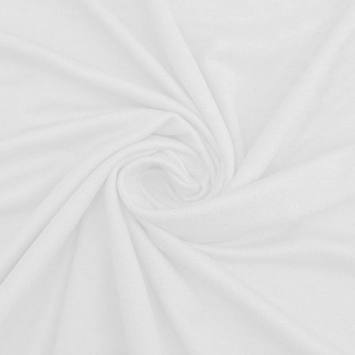 coupon - Coupon 22cm - Jersey en coton bio blanc