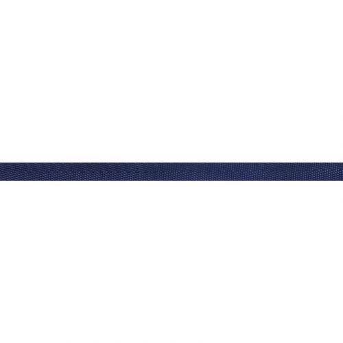 Ruban sergé polyester 10 mm bleu marine