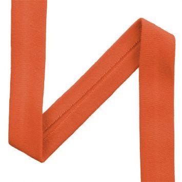 Biais jersey orange 20mm