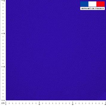 Tissu imperméable bleu outremer uni
