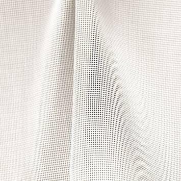 Toile textilène blanche