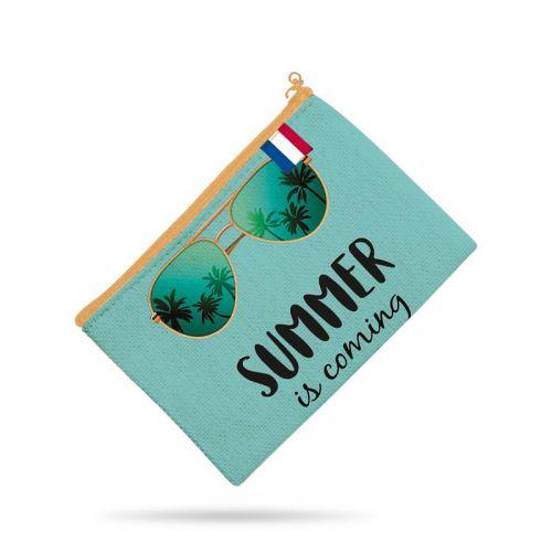 Kit pochette motif summer is comming