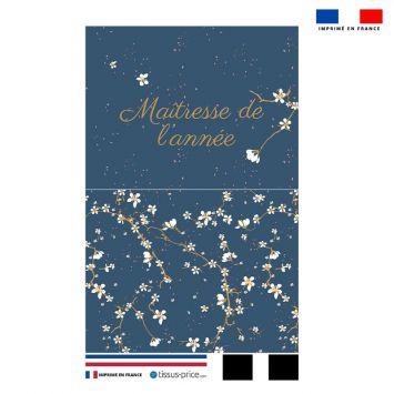 Kit pochette motif maîtresse de l'année