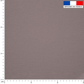 Tissu imperméable gris uni