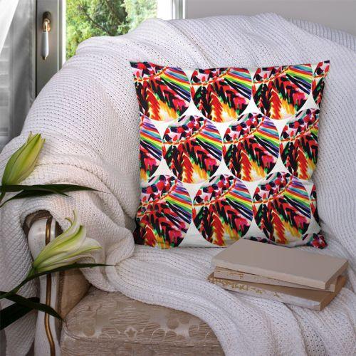 Coupon 45x45 cm motif ethniques - Création Jeanne Garreau