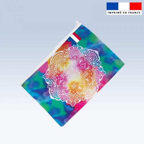 Kit pochette motif mandala