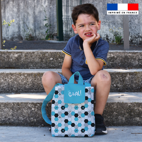 Kit sac à dos enfant motif football