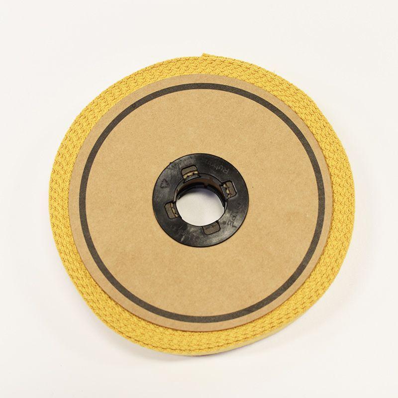 Rouleau 10m sangle coton 30mm moutarde