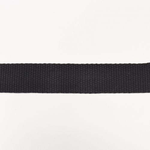 Rouleau 10m sangle coton 30mm anthracite
