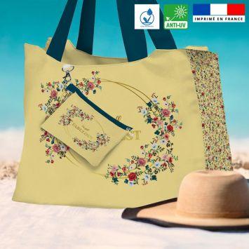 Kit sac de plage imperméable motif I'm still fabulous - King size