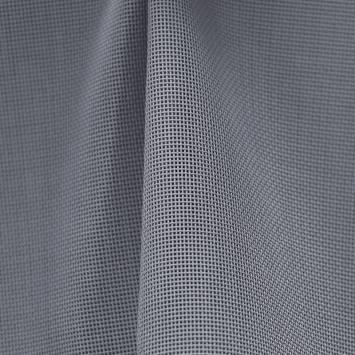 coupon - Coupon 43cm - Toile textilène gris foncé