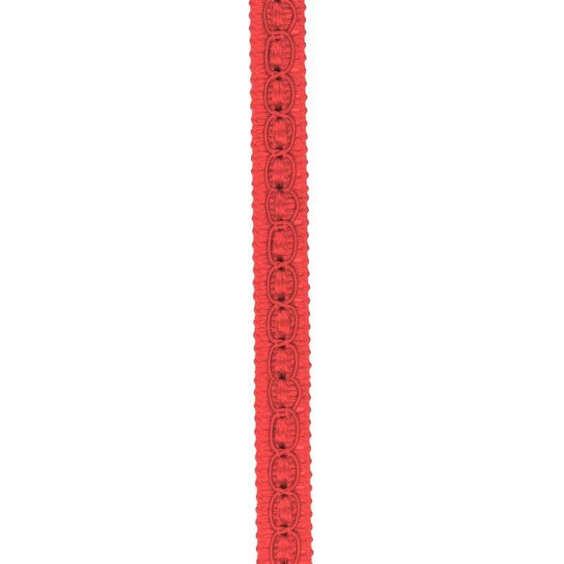 Galon fantaisie 10 mm rouge
