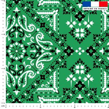 Bandana - Fond vert