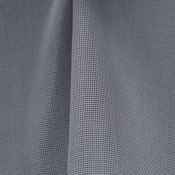 coupon - Coupon 23cm - Toile textilène gris foncé