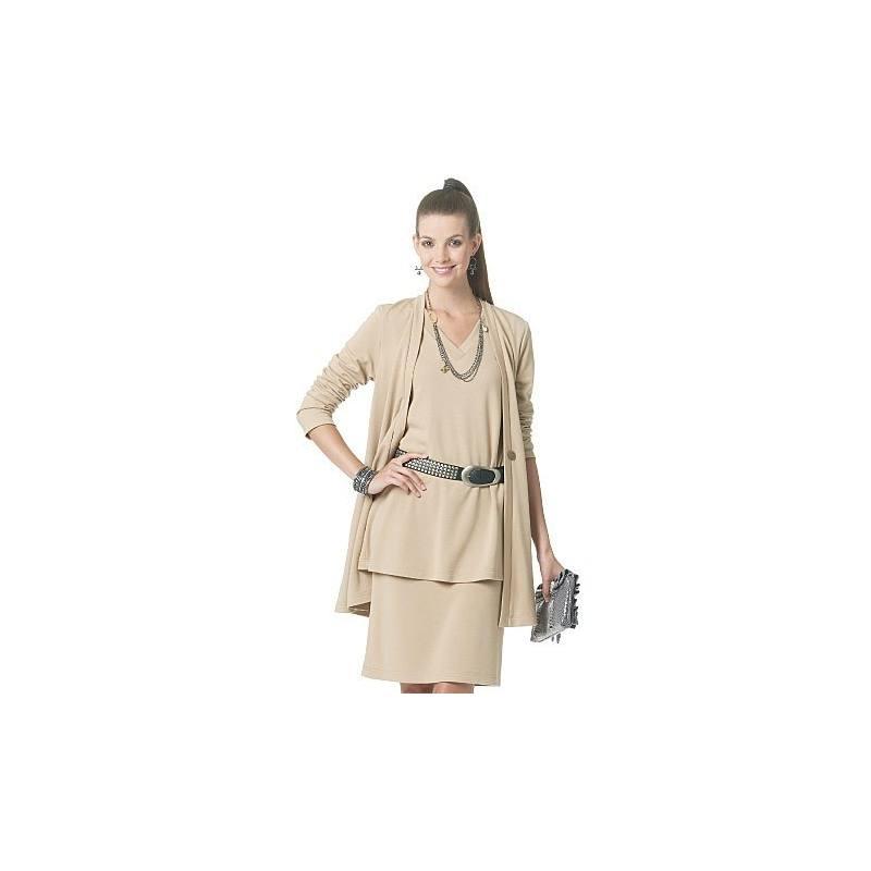 Patron Mc Calls M6247 : Veste, haut, ceinture, jupe, pantalon Taille : 44-50